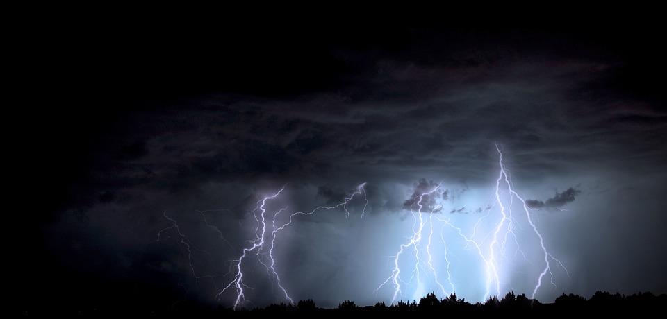 Ostrzeżenie meteorologiczne - burze