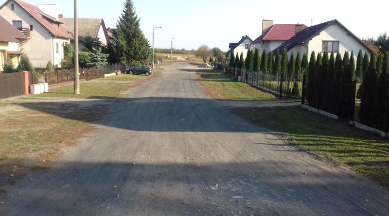 Rozbudowa ulicy Księdza Czarnowskiego w Lubiewie