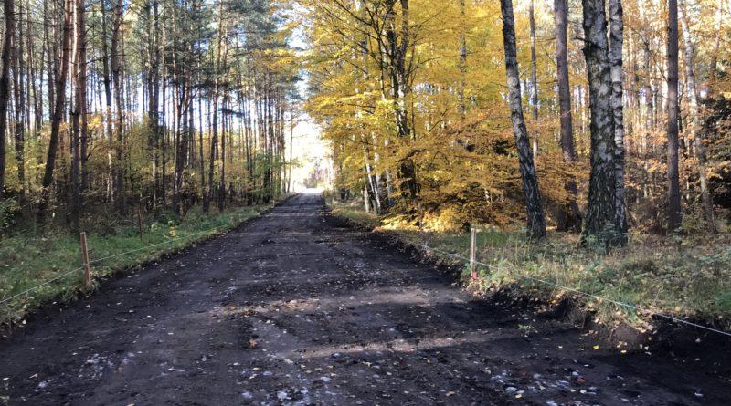 Rozpoczęcie przebudowy drogi gminnej Zamrzenica- Klonowo