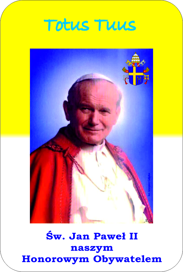 Logo miast papieskich