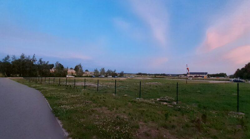 Lądowisko w Bysławiu